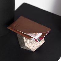 Zaccardelli Leather Co | Marrone Card Holder