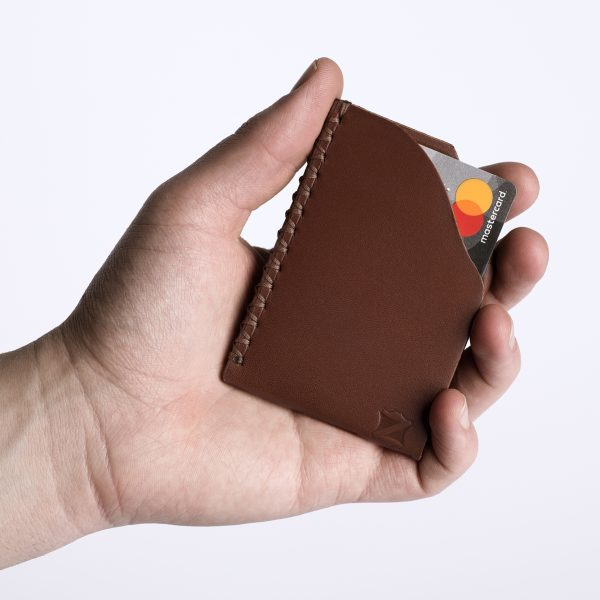 Marrone Card Holder | Zaccardelli Leather Co
