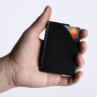 Nero Card Holder | Zaccardelli Leather Co