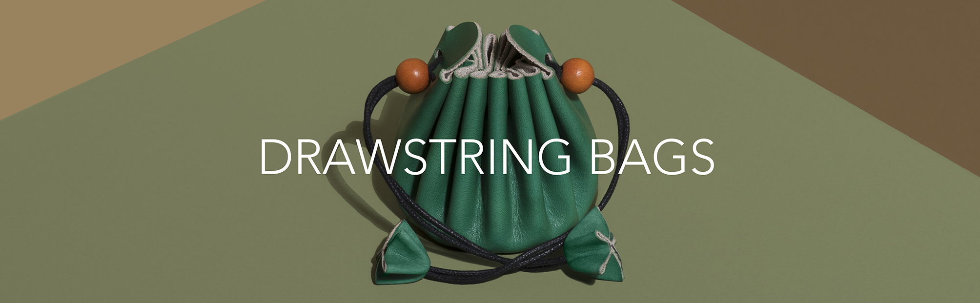 Drawstring Bags | Zaccardelli Leather Co