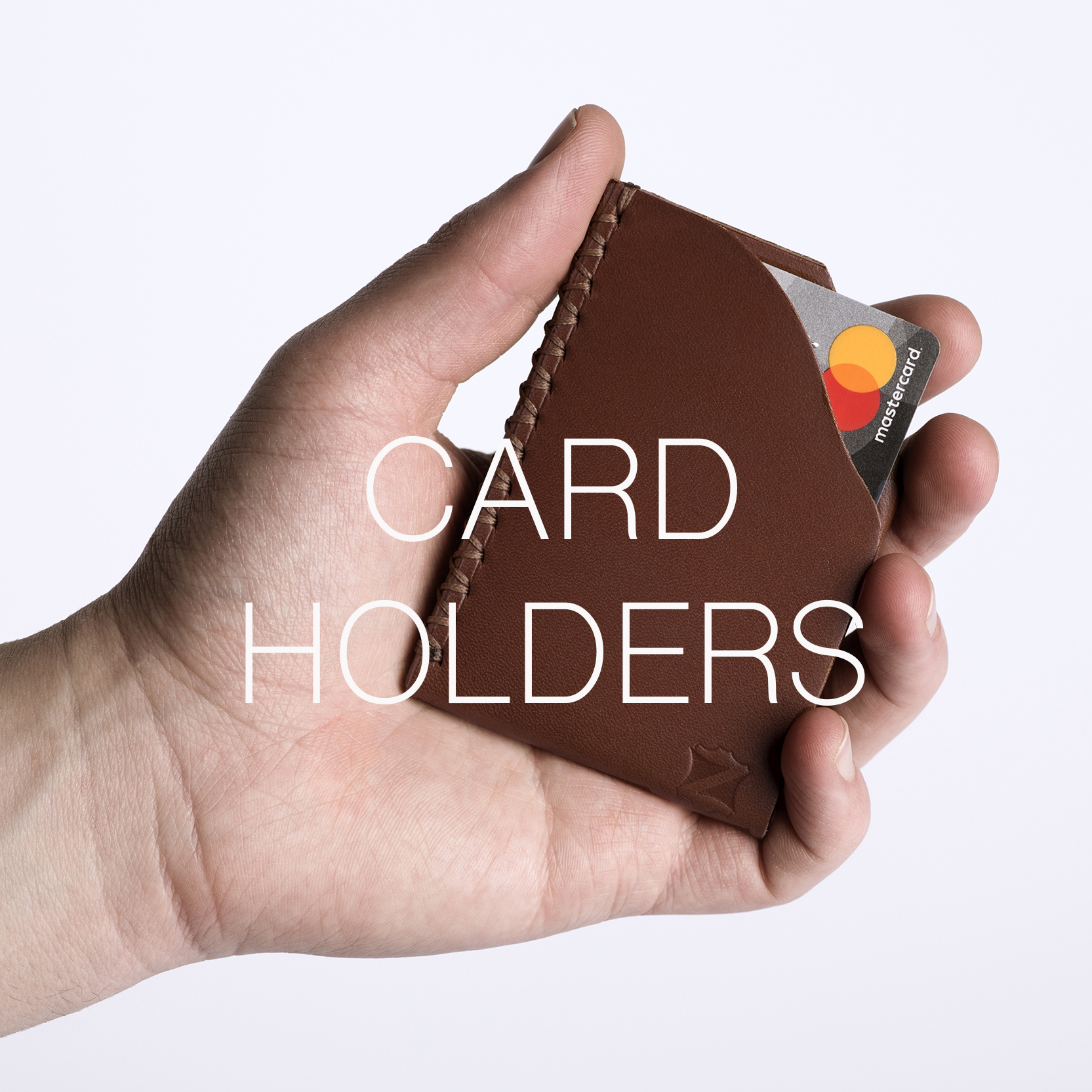 Handmade Card Holders | Zaccardelli Leather Co | Handmade Leather Goods